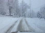 Snowy Roads on 3.6.13