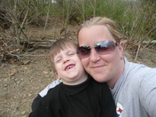 Gage and Mommy