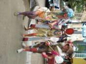 Jubilee ladies perform in streets