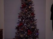 Black and Silver Christmas Tree 2010
