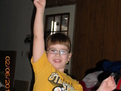 Cheering for the STEELERS