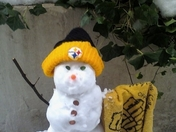 The Terrible Snowman! Let's go steelers