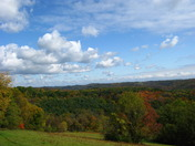 Beautiful Blue Sky Fall Day as far as the eye can see