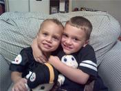 My Grandsons, Aiden & Kaleb