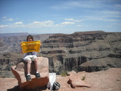 Terrible Towel at Grand Canyon
