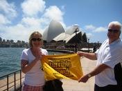 The Towel visits Sydney