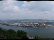 High atop Mt. Washington.