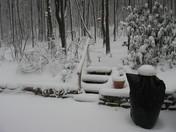 Virgin snow fall Tionesta Pa.