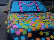 My kids did this to my car for mothers day i love them (hannah bowser& mark