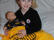 Both My Dolls Are Steeler Fans!