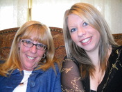 Mymom and I last year on Mothers day