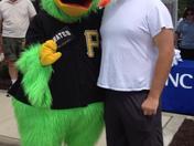 Matt Hursh and Pirate Parrot