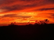 Sunset over Boyce Mayview 9/25/2013