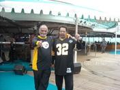 Brothers Mo & Mario on the Royal Carribean Boat