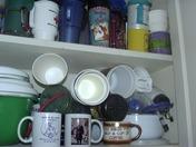 My assorted mugs