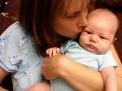 Mommy (Cheryl) and 3rd Son (Elijah)