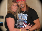 "Thankful for the gift of meeting Bret Michaels, my ""other"" Hero!"