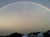 Full rainbow in Beaver Co.