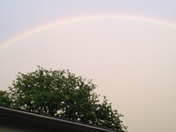 Rainbow over Mt Lebanon