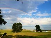 Rainbow over our farm