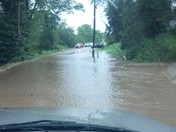 strawcutter road flooded