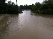 Loyalhanna Floods Field and Driveway