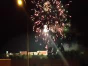 2013 Whiskey Rebellion Festival Fireworks  Washington PA