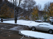 our first snow fall 2013
