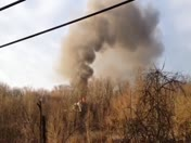 Fire in Shaler this morning