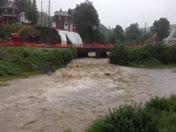 Mahoning Creek flooding