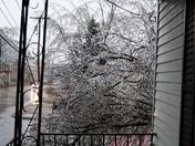 Icy Porch