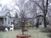 My house after the ice storm