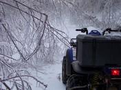 ice storm - Bridgewater Hill, NH