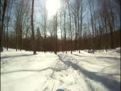Sleboggan Run Opens -  New Snow