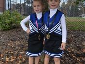 Tiny Mite Cheerleaders!