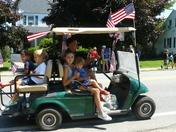 Gov. Romney and children