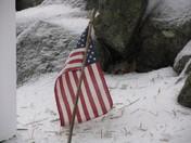 Ice Storm - American Flag