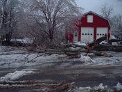 Nelson ice damage