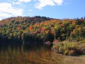 Upper Hall Pond inlet