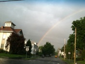 Rainbow in Manchester
