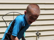 Happy 4th!! Cooling down with a hose