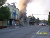 Pittsfield fire, 36 Main st