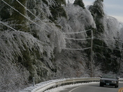 N.H.  Route 9 Post N.H. Ice Storm 12/14/08