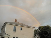 Rainbow in early AM