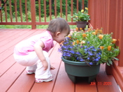 Smelling the Flowers!
