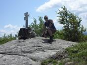 Me on Straightback summit