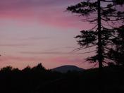 highland lake sky