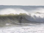 Surfing North Beach
