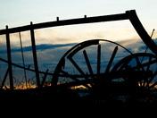 Old Wagon Sunset