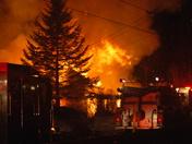 House fire, Spring Street, Farmington, 02/08/09